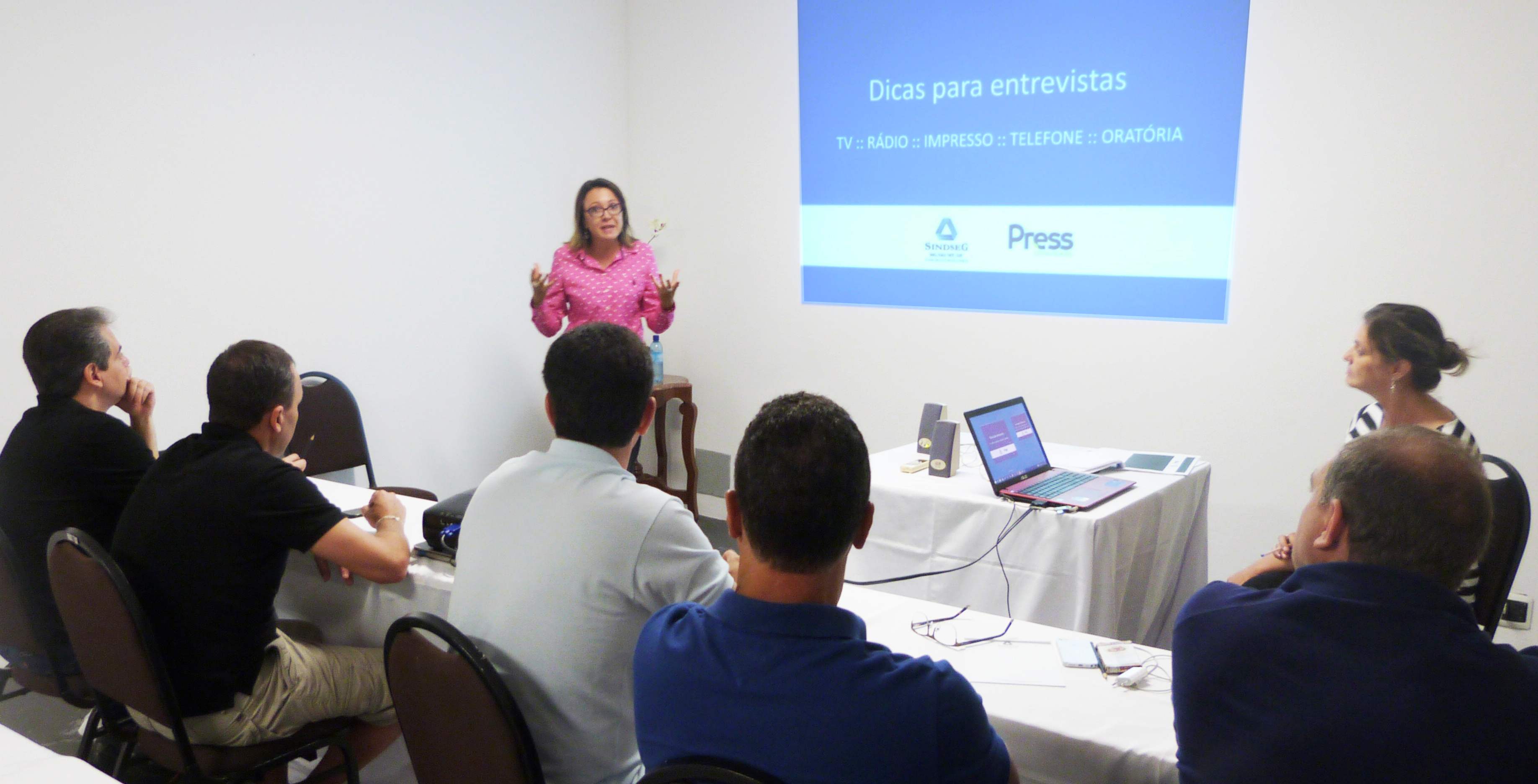Press promove Media Training para capacitar porta-vozes de grandes empresas