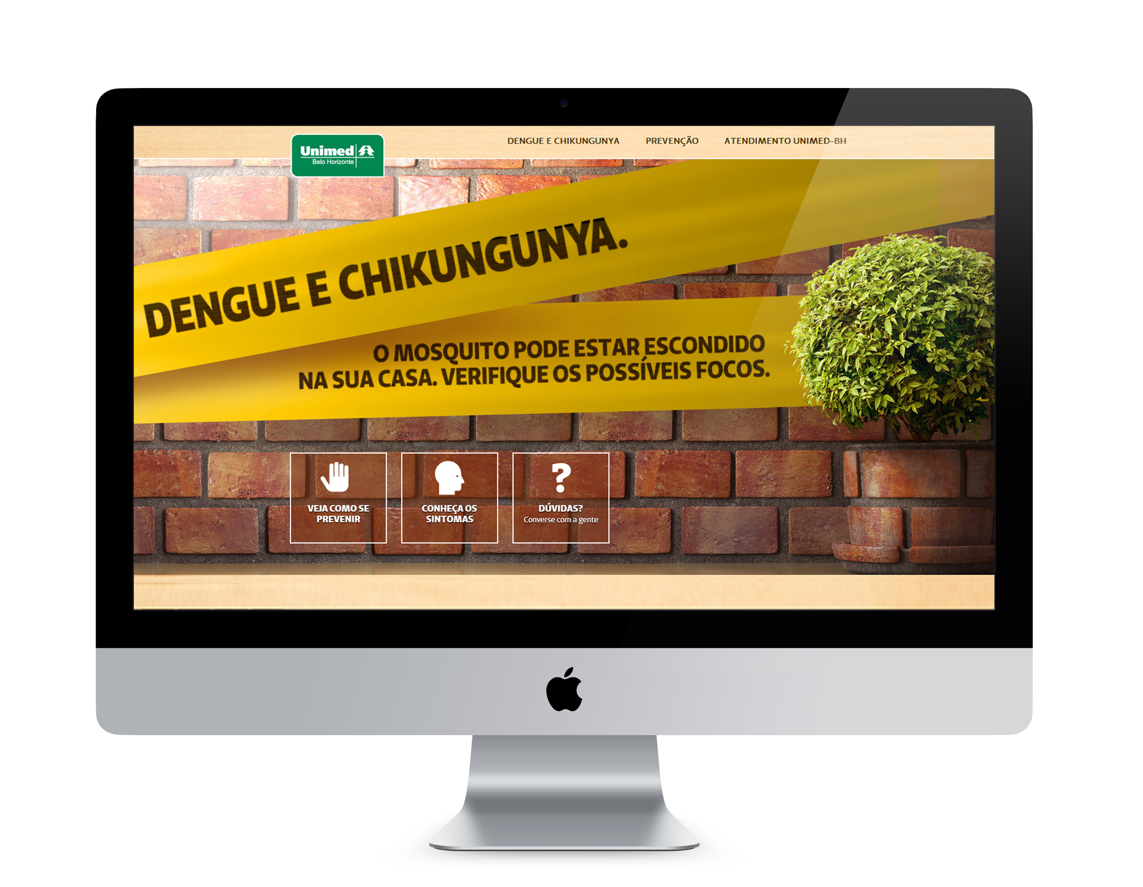 Campanha da Unimed-BH alerta sobre os cuidados com a dengue e a chikungunya