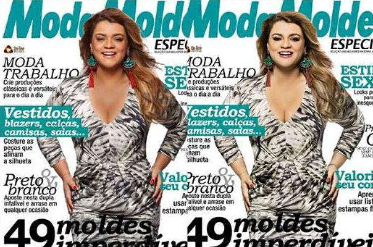 Preta Gil se sente prejudicada pelo uso excessivo do photoshop em suas fotos na capa da revista
