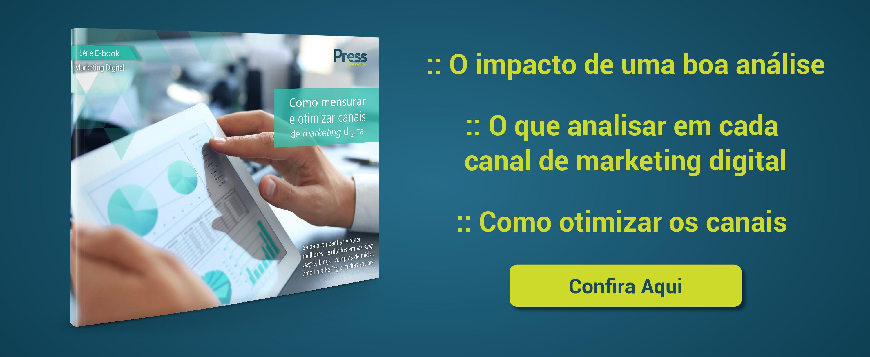 EBook Métricas e otimização no Marketing Digital: Atenção àquilo que traz Resultados